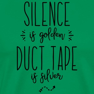 silence duct tape