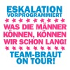 Team Braut - On tour - Frauen Premium T-Shirt