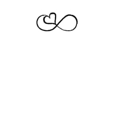 Infinity Symbol Heart Love Infinity By Shirtstormde Spreadshirt
