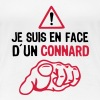 je suis face connard insulte doigt point - T-shirt Premium Femme