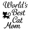 World's Best Cat Mom - Women's Premium T-Shirt