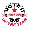 Voted saleswoman of the year - Women's Premium T-Shirt