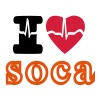 i love soca - Women's Premium T-Shirt