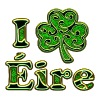 Éire Ireland Shamrock I love Heart St Patricks Day - Women's Premium T-Shirt