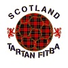 tartan football scotland red - Women's Premium T-Shirt