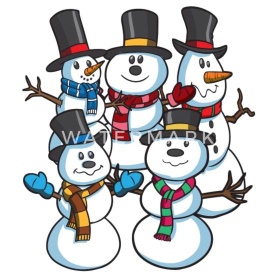 Snowmen At Christmas.Snowmen At Christmas Women S Premium T Shirt Spreadshirt