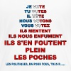 message élections france - T-shirt Premium Femme