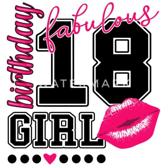 Nieuw 18de verjaardag voor de achttiende verjaardag van het meisje Kiss FC-15