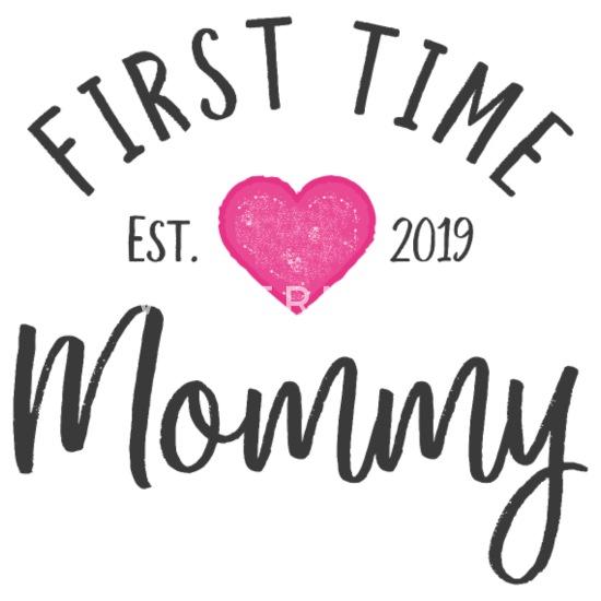 Voor De Eerste Keer Moeder 2019 Aanstaande Moeder Cadeau Vrouwen Premium T Shirt Wit