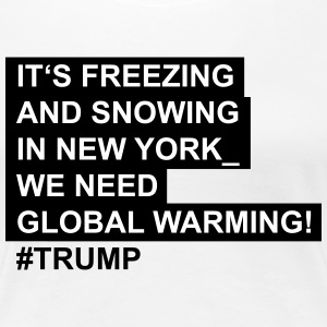 Global_warming - Dame premium T-shirt