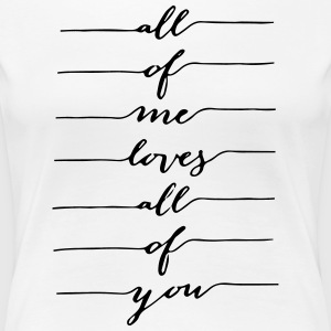 Me and You en disant - T-shirt Premium Femme