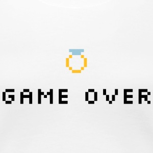 Game Over Wedding Ring - T-shirt Premium Femme