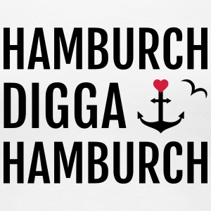 Hamburch DIGGA Hamburch - Frauen Premium T-Shirt