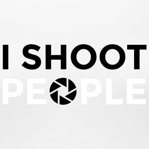 I shoot people - Women's Premium T-Shirt