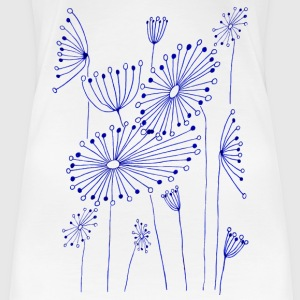 Fantasy flowers - Women's Premium T-Shirt