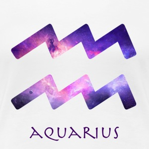 Aquarius - Premium-T-shirt dam