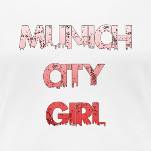 Munich City Girl - Vrouwen Premium T-shirt
