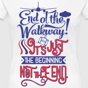 Bangkok Airport End of the Walkway - Women's Premium T-Shirt