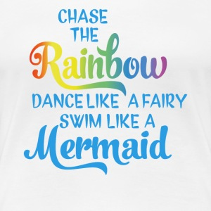 Follow the rainbow - Women's Premium T-Shirt