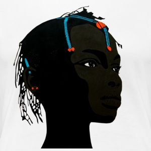 african girl 2 - Women's Premium T-Shirt