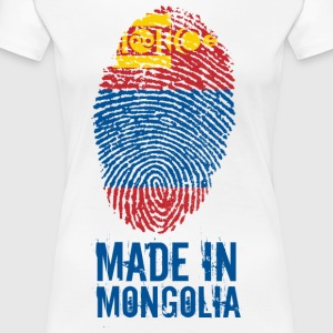 Made In / Mongolie Mongolie / Монгол Улс - T-shirt Premium Femme