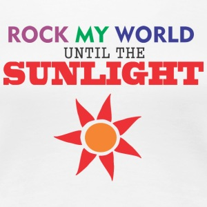 ROCK my world - Women's Premium T-Shirt