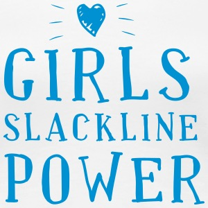 Girls Slackline Power - Women's Premium T-Shirt