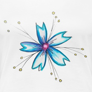 flower Fairies - Premium T-skjorte for kvinner