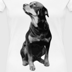 BIG DOG COLLECTION - Premium T-skjorte for kvinner