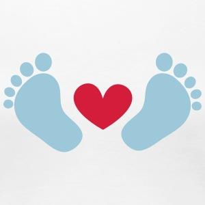 Par kärlek arrow Alla hjärtans dag hjärta älska Premium långärmad T ... 08ba902fce6d4