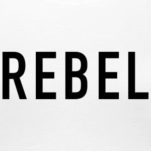 REBEL - Dame premium T-shirt
