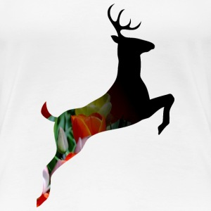 Deer stag cool modern Awesome gift flowers