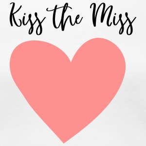 Kiss the Miss JGA love hen party - Women's Premium T-Shirt