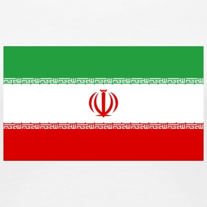 National Flag Of Iran - Dame premium T-shirt