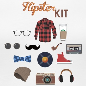 hipster kit - Women's Premium T-Shirt