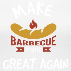 Maak Barbecue Great Again - Vrouwen Premium T-shirt