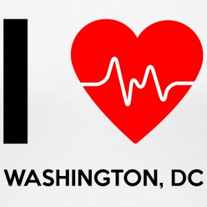 I Love Washington DC - I Love Washington DC - Premium T-skjorte for kvinner