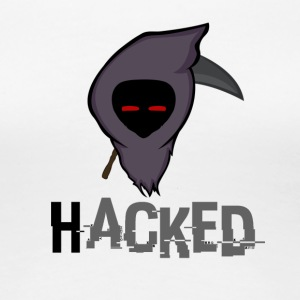 HACKED logo - Women's Premium T-Shirt