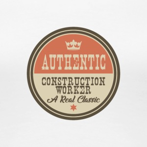 AUTHENTIC CONTSRUCTION ARBETARE - CONSTRUCTION - Premium-T-shirt dam
