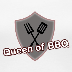 Queen of BBQ - Frauen Premium T-Shirt