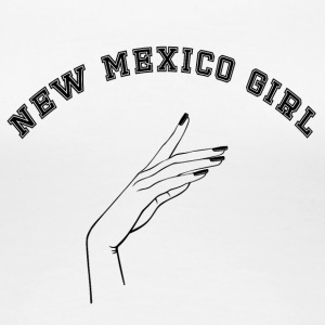 Verklaring: New Mexico Girl - Vrouwen Premium T-shirt