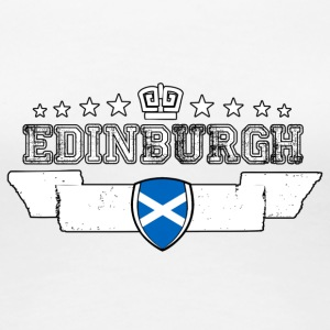 Edinburgh - Dame premium T-shirt