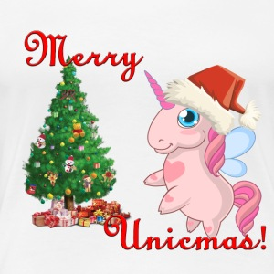 Unicorn Christmas - Women's Premium T-Shirt