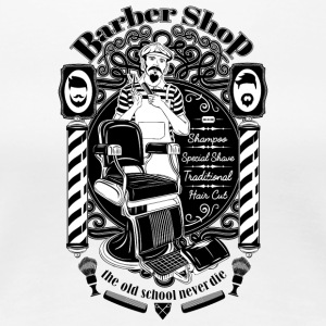 barber_shop - Vrouwen Premium T-shirt