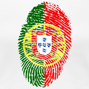 Fingerprint - Portugal - Frauen Premium T-Shirt
