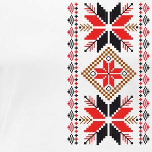 Folk Ornament - Women's Premium T-Shirt