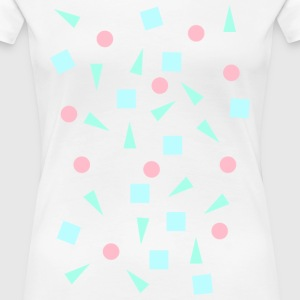 Hipster shapes - Women's Premium T-Shirt