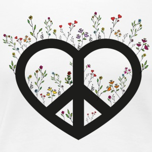 FLOWER POWER - Premium T-skjorte for kvinner