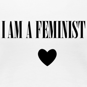 BAG I AM A FEMINIST - Vrouwen Premium T-shirt