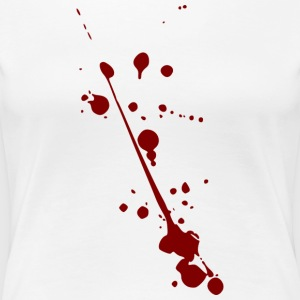 bloodstains - Frauen Premium T-Shirt